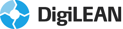 DigiLEAN logo, black on transparent background