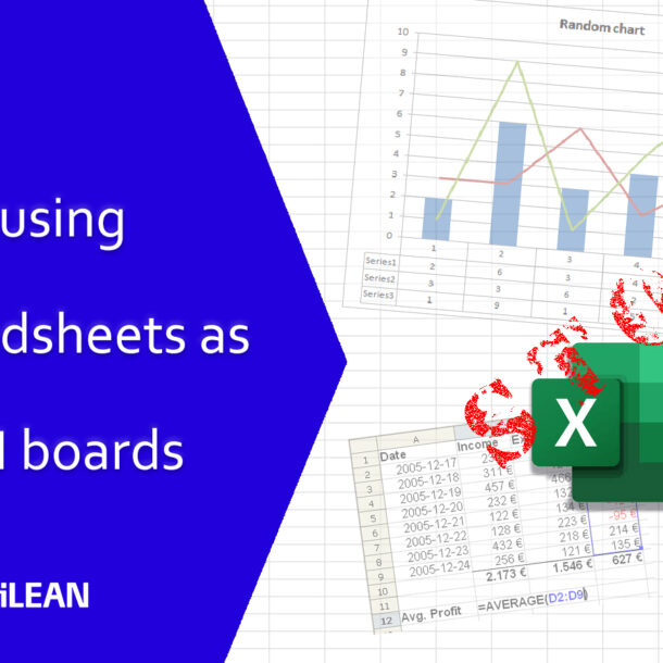 Stop using spreadsheets for lean boards